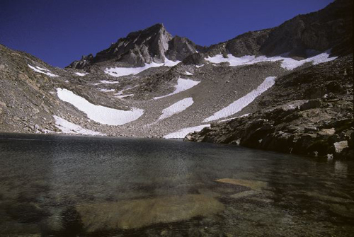 Dade Lake with the Bear Creek Spire in background