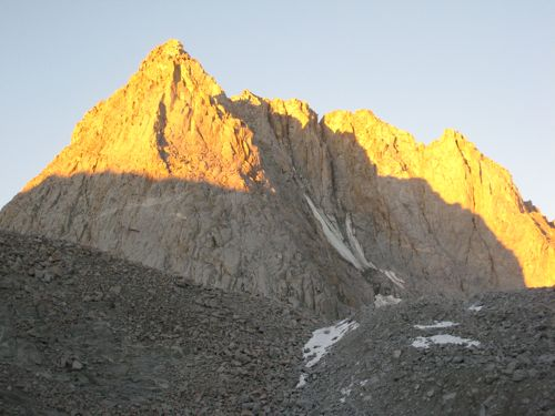 Mt. Mendel at sunrise