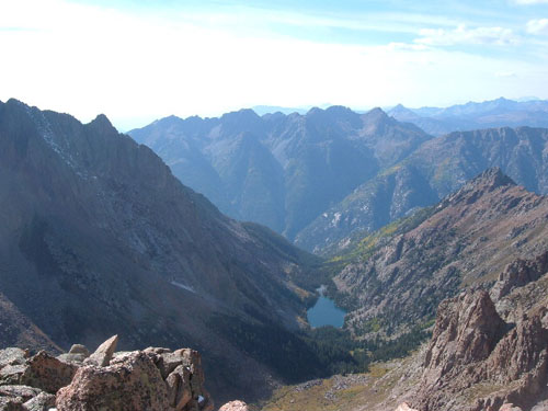 Ruby Lake from Monitor Peak