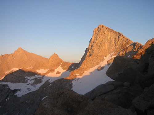 Sunset at Sawtooth Pass